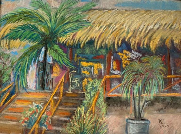 Mexikanische Öko Lodge