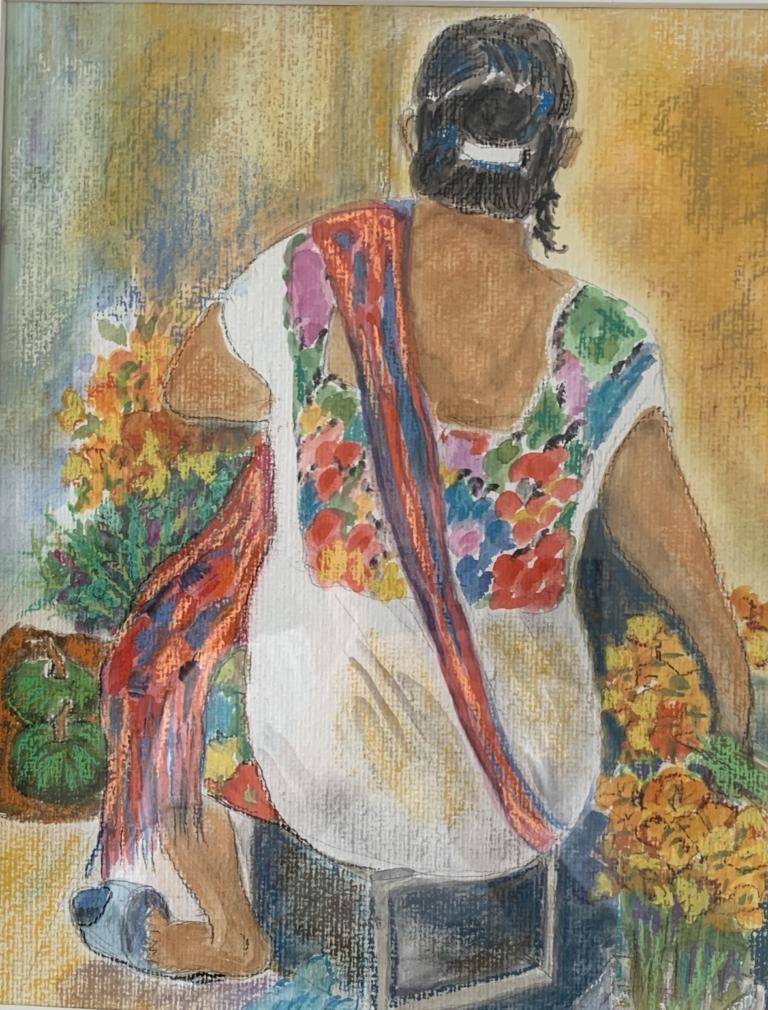 Marktfrau in Yucatan